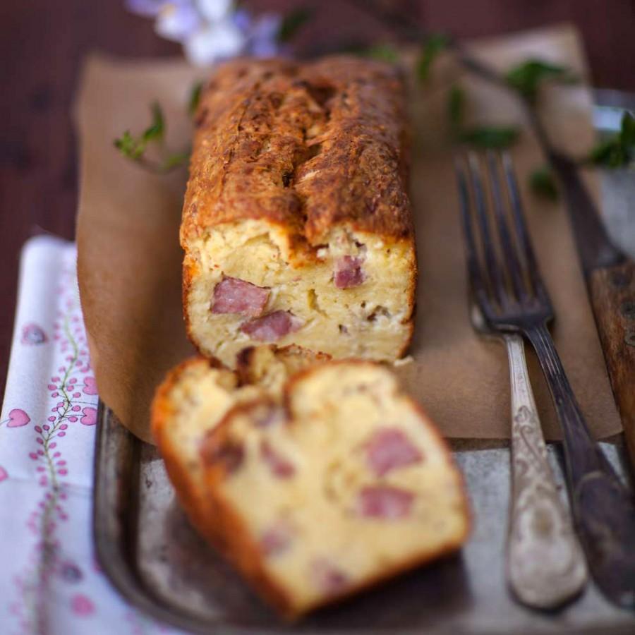Cake à la saucisse de morteau