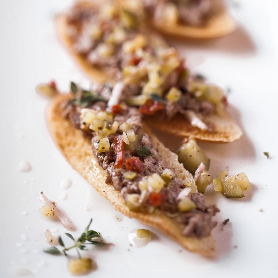 Tartine au Pâté