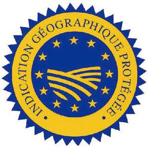Signes d'Origine: Indication géographique Protégée (IGP)